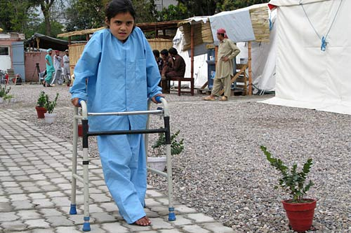 Ten-year-old Alina lives in Khyber Agency in north-west Pakistan.