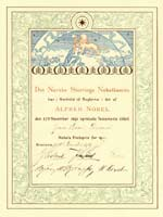 Nobel Peace prize awarded to Dunant in 1901.