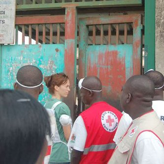 ICRC visit at Ivorian Detention Facility.