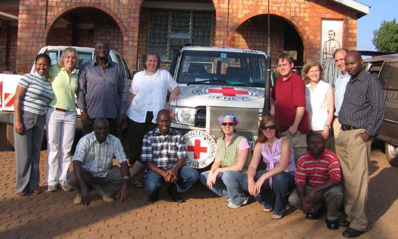 ICRC's Molly Gray leads a group of congressional staff to Uganda.