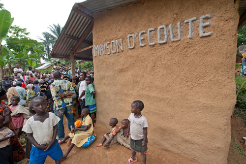Maison d'écoute, Irangui, Democratic Republic of Congo © ICRC / P. Yazdi