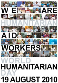 World Humanitarian Day is August 19.