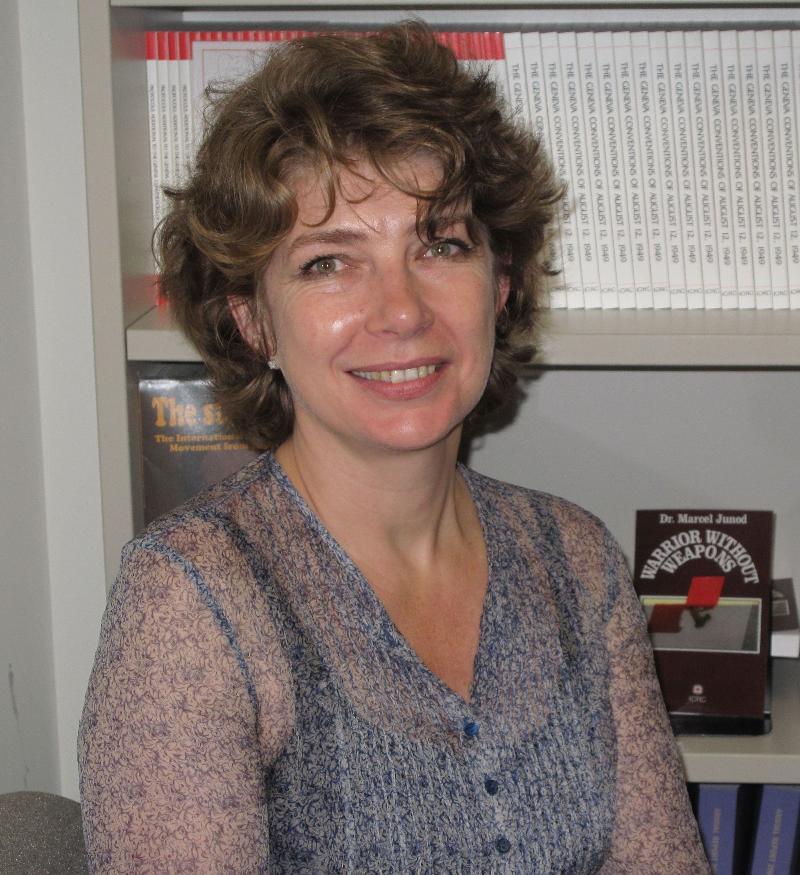 Sophia Procofieff, ICRC Gender Equality Advisor