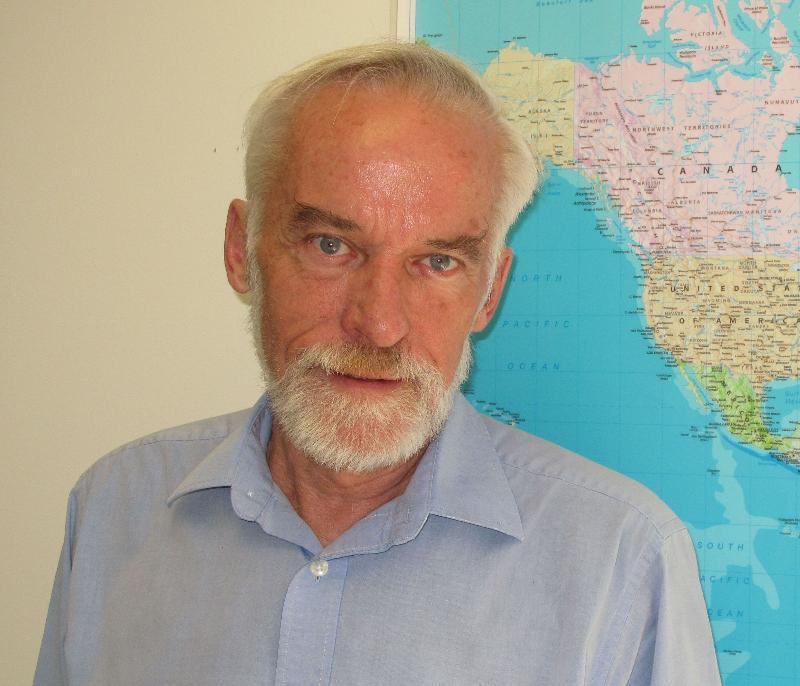 ICRC Washington Spokesperson Bernard Barrett