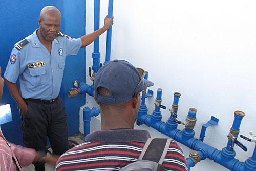 Haiti Prison Water