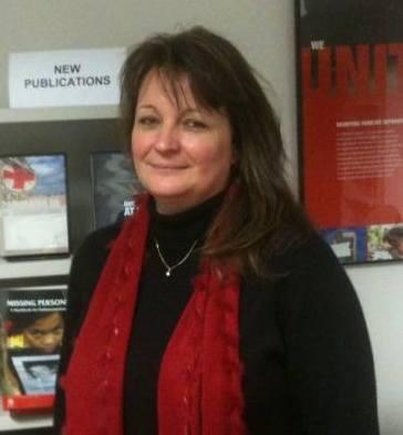 ICRC IDP Advisor Anne Zeidan-Wenger