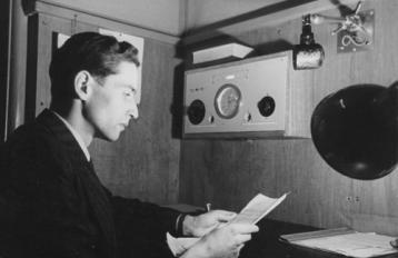 Inter-Croix-Rouge Broadcast, Geneva, 1945