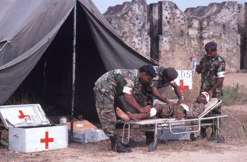 First Geneva Convention: Wounded and Sick in Armed Forces in the Field
