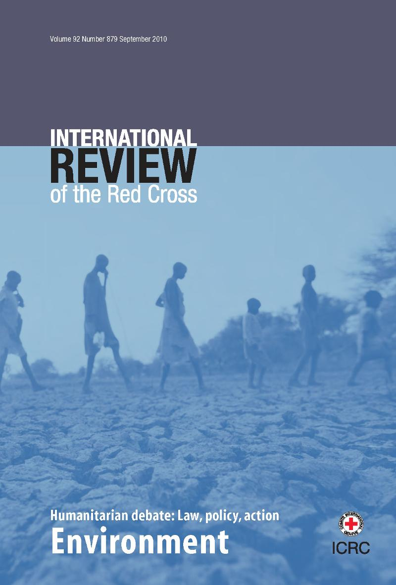 International Review of the Red Cross: Environment