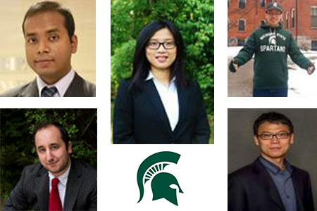 five new Econ faculty members
