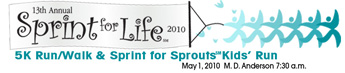 MD Anderson Sprint for Life