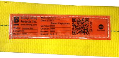 QR Code on Web Sling