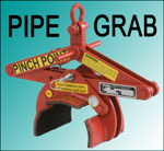 """Crosby Clamp-Co """"Padded"""" Pipe Grab"""