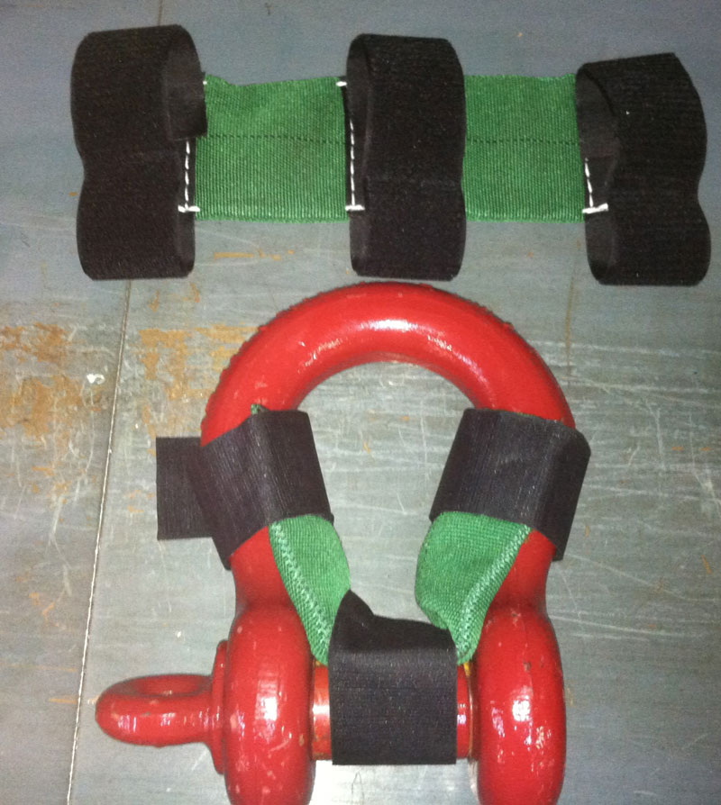 Shackle Pin Pads