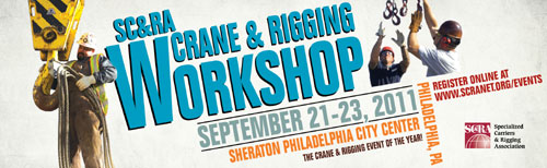 crane and rigging workshop