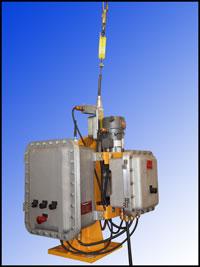 MaxiRider II - floor mounted personnel hoist