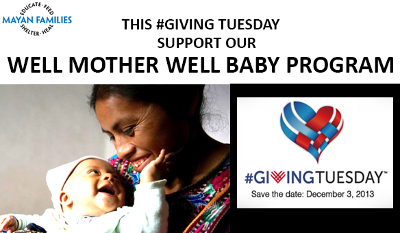 THIS #GIVING TUESDAY SUPPORT OUR WELL MOTHER WELL BABY PROGRAM