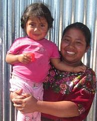 Mayan Families Mother and Girl