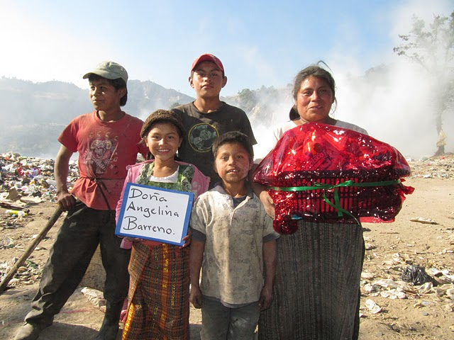 One of the families from the dump
