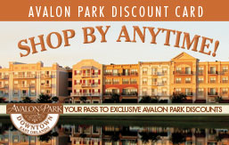 Avalon Park Discount Card