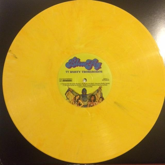 BF Yellow Vinyl