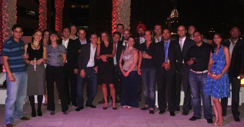 Dubai May 4 2010 Group