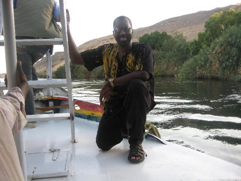 Yirser on Boat
