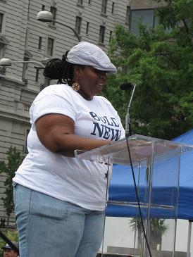 Advocacy 2009 rally speaker