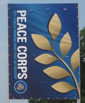 Peace Corps Banner