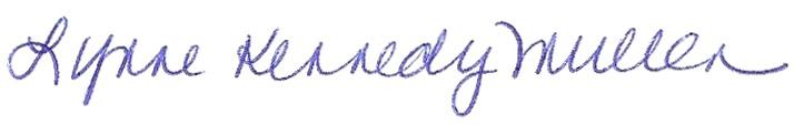 Lynne's Signature