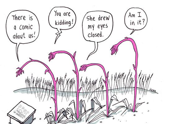 planting comics