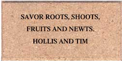 tribute brick