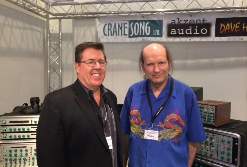 Brad Lunde With Dave Hill