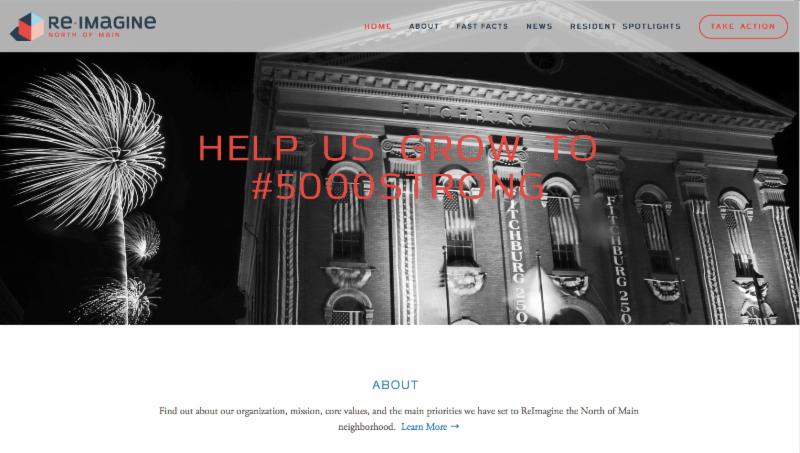 Home Page ReImagine NOM Website