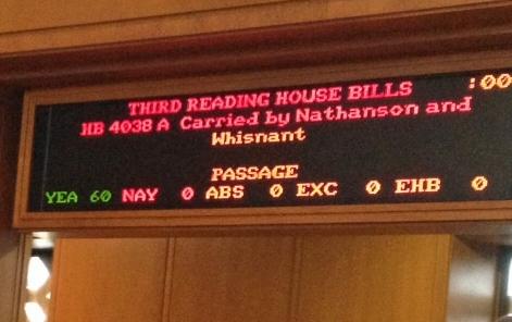 MHP vote-passes House