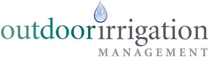 outdoor irrigation management