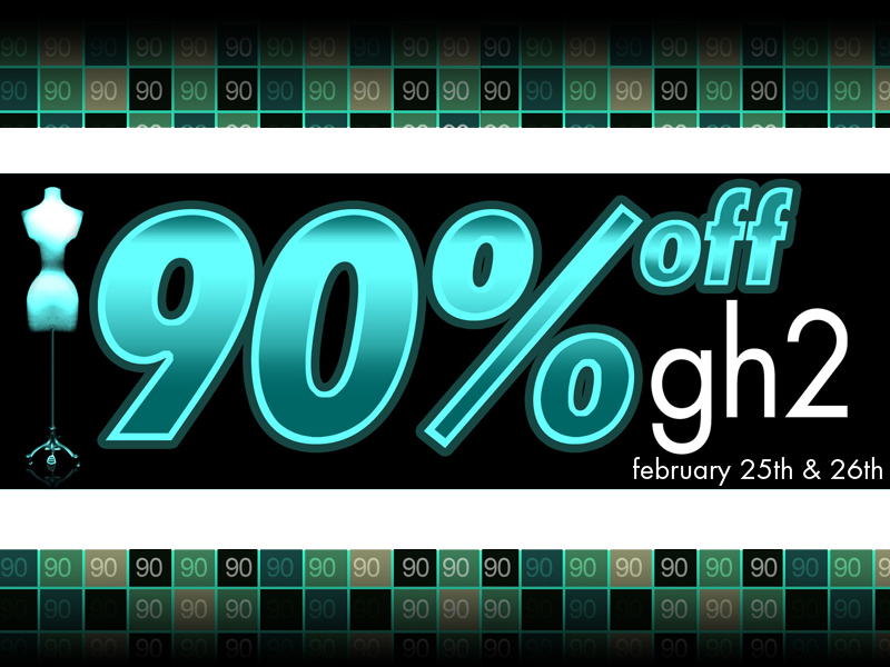 gh2 90% off sale!