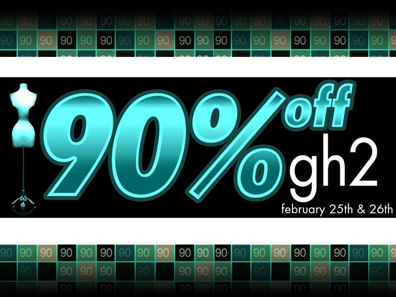 gh2 90% off sale!