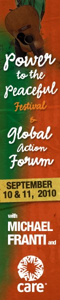 The Power to the Peaceful Global Action Forum & Celebration