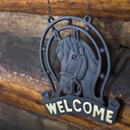 welcome sign at Keillor Cabin