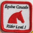 Equine Canada Rider Level badge