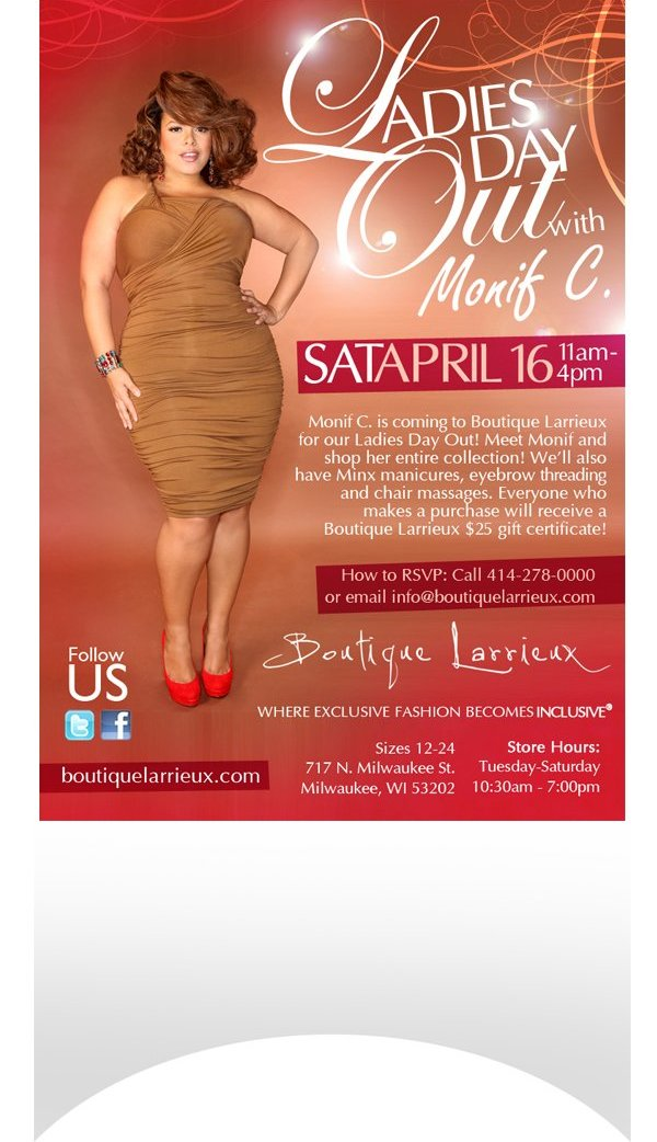Ladies Day Out!  Meet Monif C and shop her entire collection!