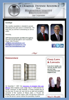 newsletter sample