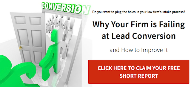 Why Your Law Firm is Failing at Lead Conversion