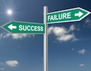 Sucess Failure signs