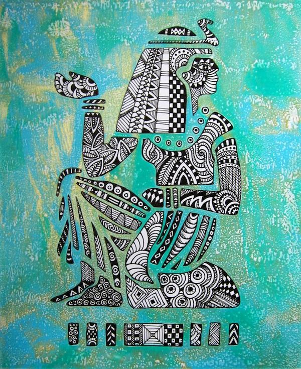 148 Gelli Plates Textile Art