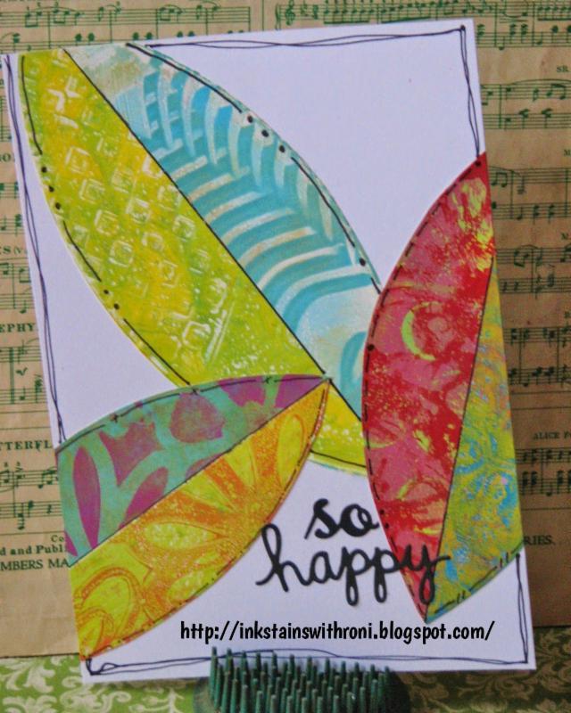 135 Gelli Plates Textile Art