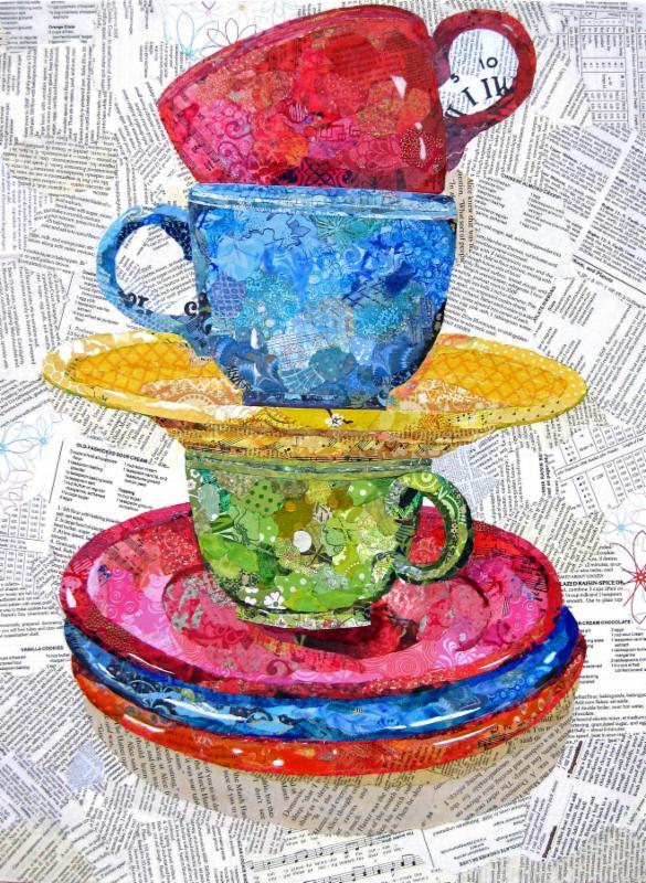 151 Gelli Plates Textile Art