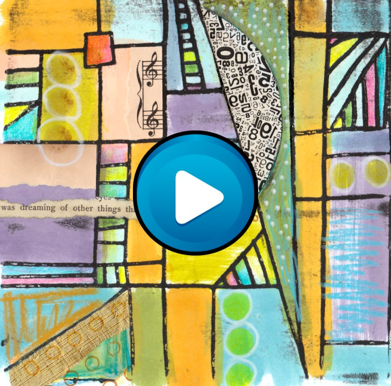 26 Gelli Plates Textile Art