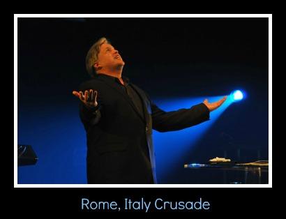 Steve in Rome, Italy
